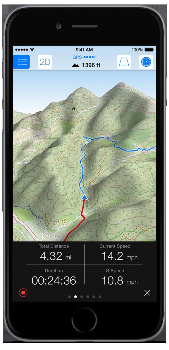 Maps 3D PRO ios