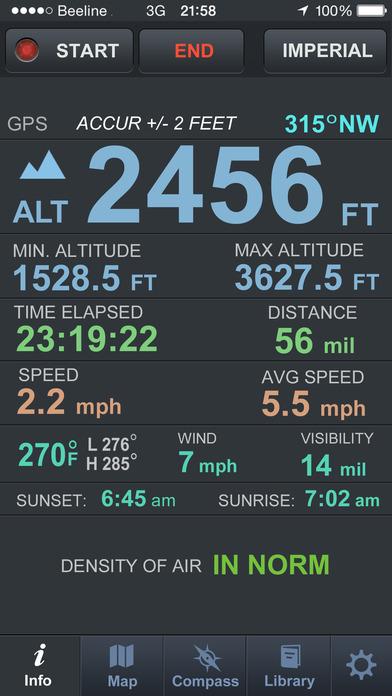 Altimeter Pro ios