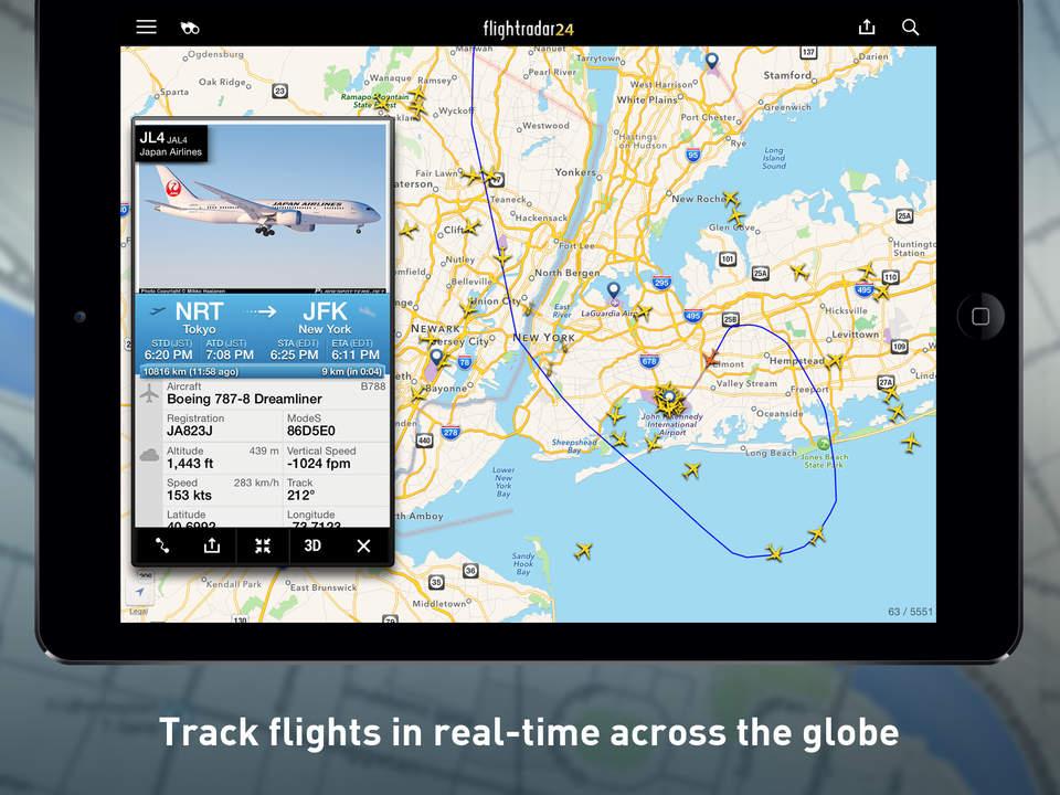 Flight Tracker ios
