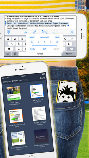 Textkraft Pocket ios