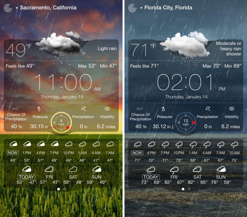 Weather Live ios