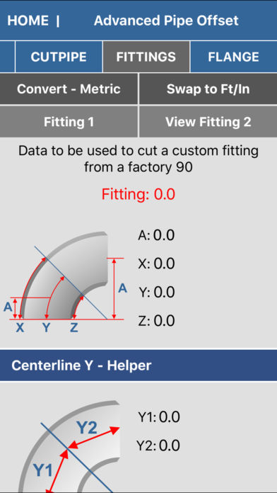 Pipe fitter calculator | iphone app | app decide.