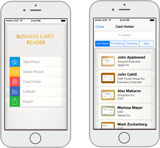 Business Card Reader Plus ios