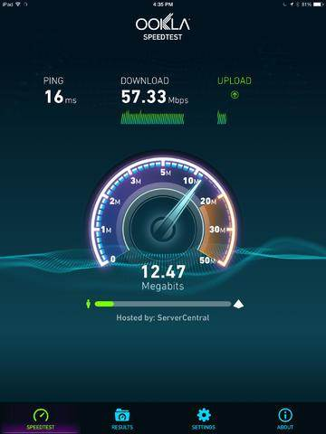 Speedtest by Ookla IOS