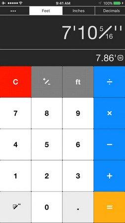 Workman's Calculator ios