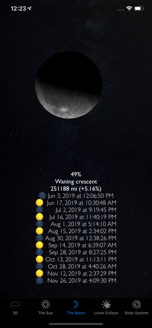 Sun and Moon 3D Planetarium ios