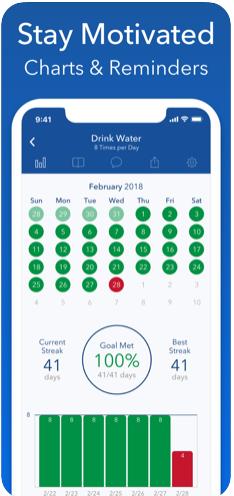 Goal & Habit Tracker ios